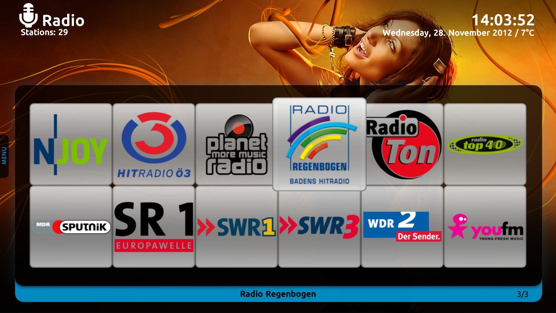 MediaPortal Titan_Feature_Radio